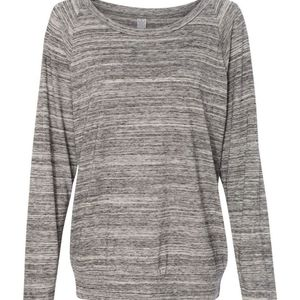 ALTERNATIVE eco-heather Slouchy Pullover size LARGE